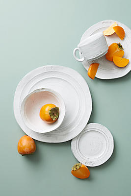 Glenna Dinner Plates, Set Of 4 by Anthropologie