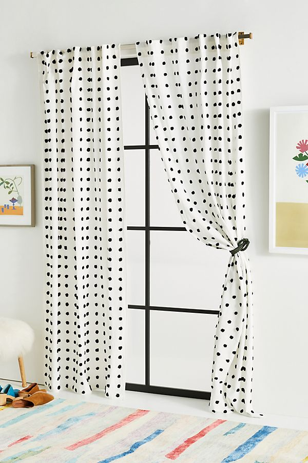 Slide View: 1: Tufted Makers Curtain