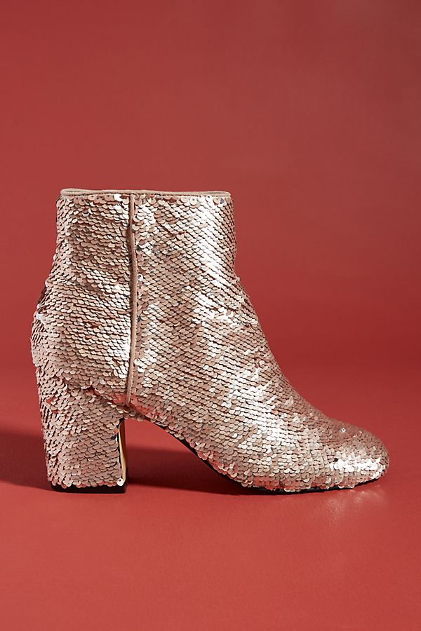edb869b17d33 Farylrobin Linda Sequin Ankle Boots   Anthropologie