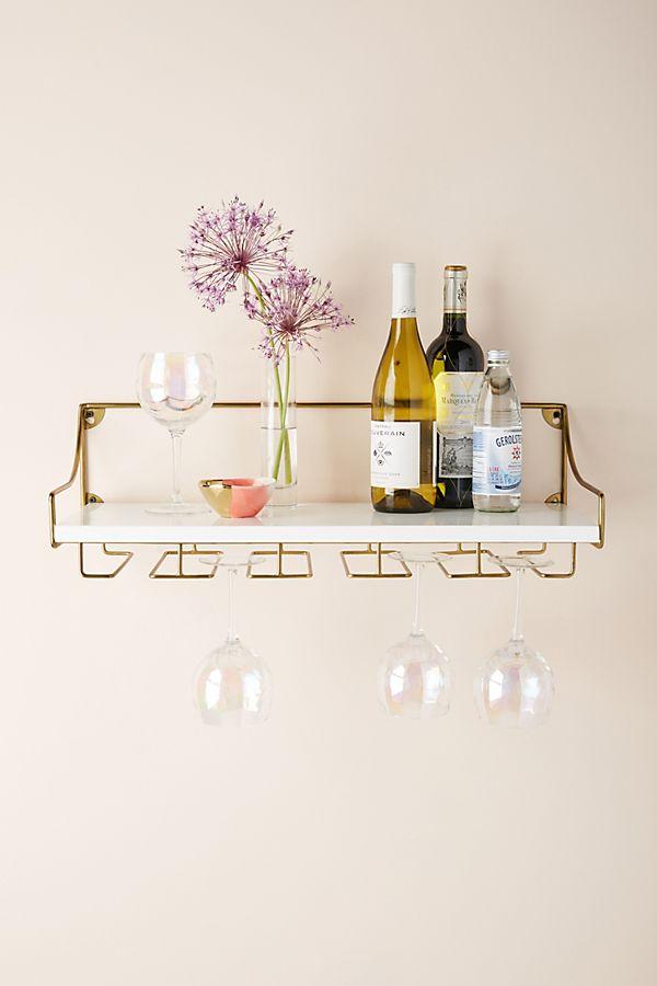 Fabulous Mayfair Wall Mounted Wine Glass Shelf Home Interior And Landscaping Oversignezvosmurscom