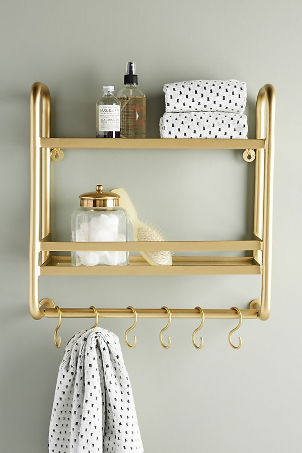 Slide View: 1: Erin Wall Mounted Storage Rack
