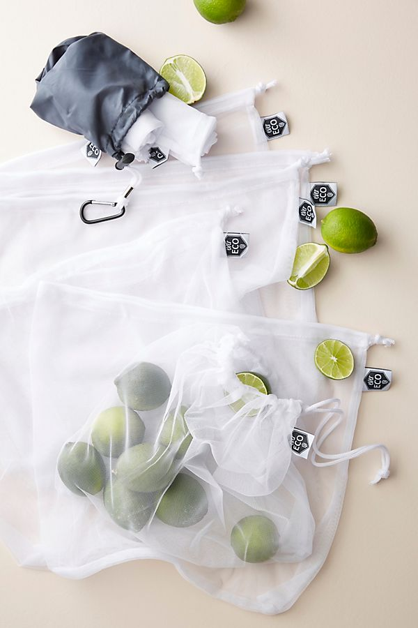Ever Eco 8 Pack Recycled Mesh Produce Bags