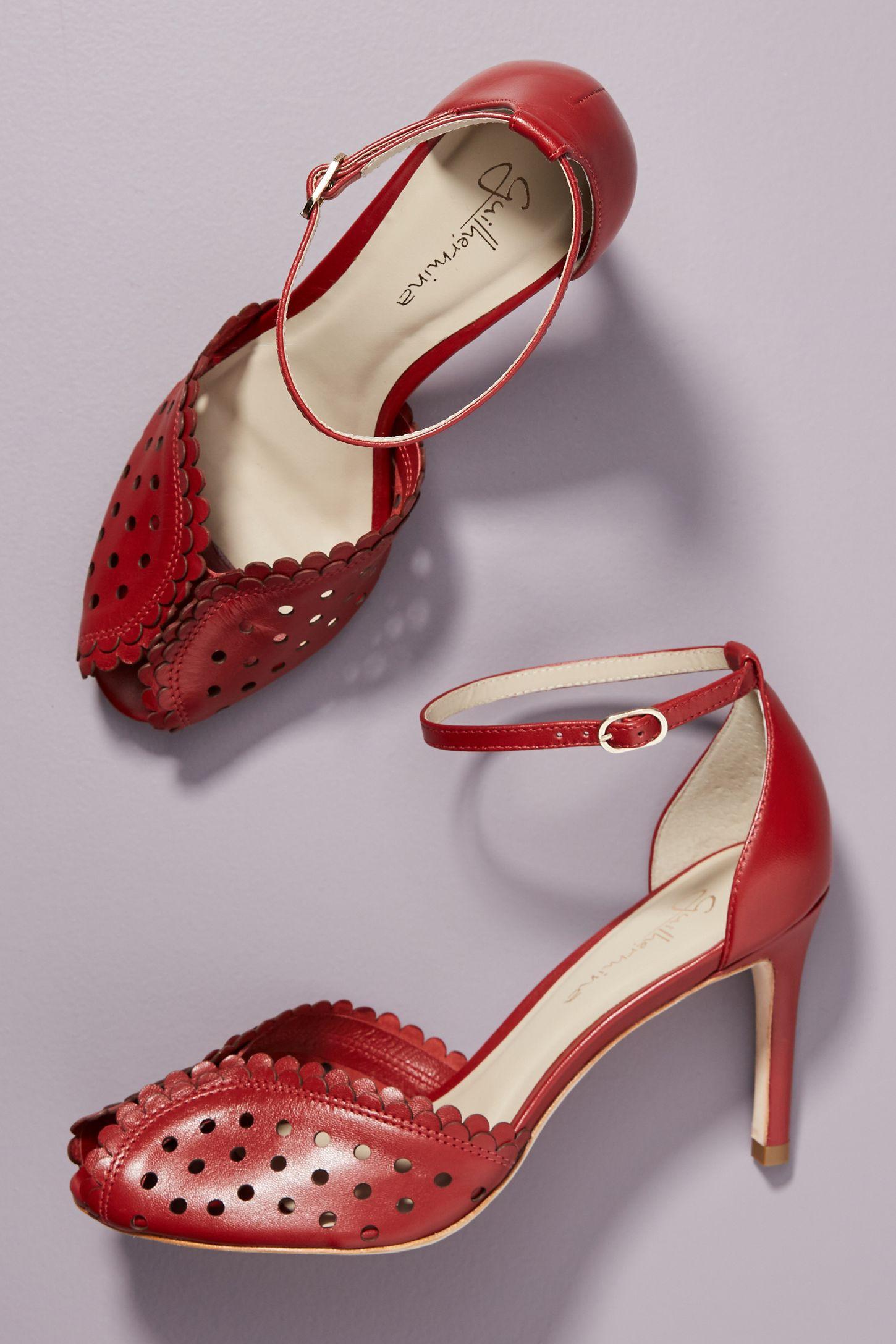1c58f3fed503 Guilhermina Peep Toe Heels