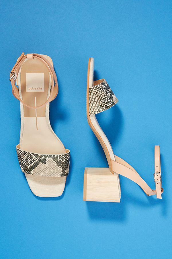 26cdbdd24de Dolce Vita Zarita Block-Heeled Sandals