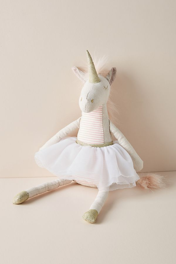 Slide View: 1: Ursula the Unicorn Stuffed Animal