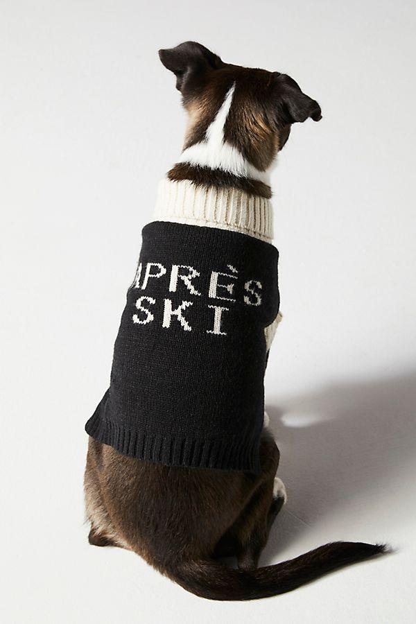 Slide View: 1: Apres Ski Dog Sweater