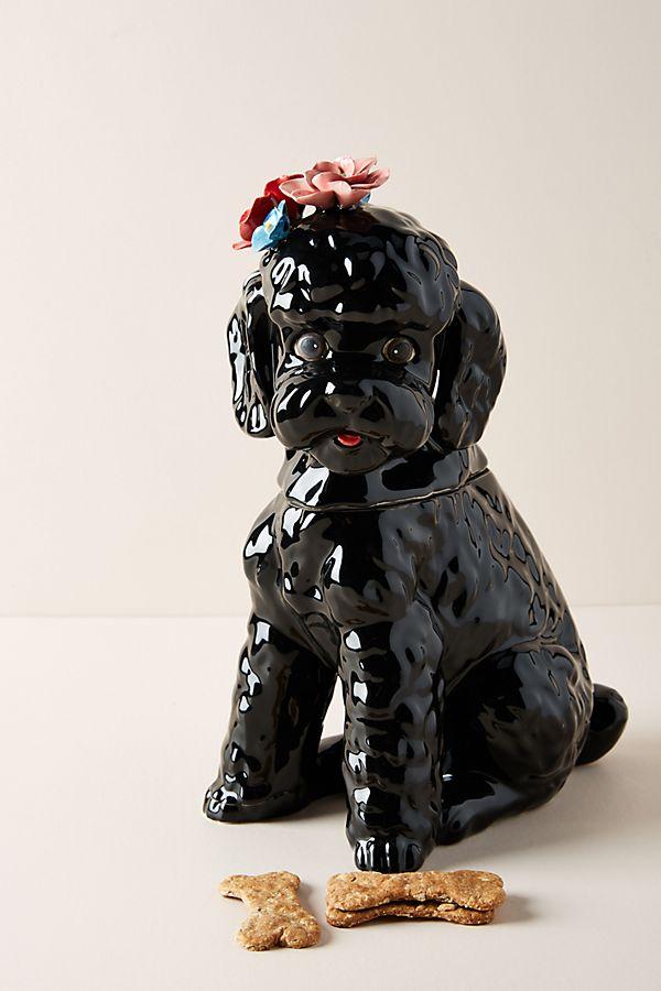 Slide View: 1: Dapper Dog Cookie Jar