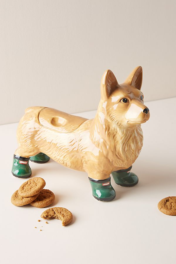 Slide View: 1: Dapper Dog Cookie Jar