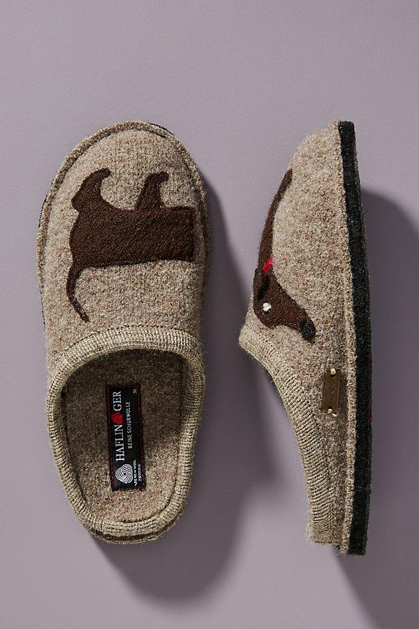 17908e965343 Haflinger Doggy Slippers