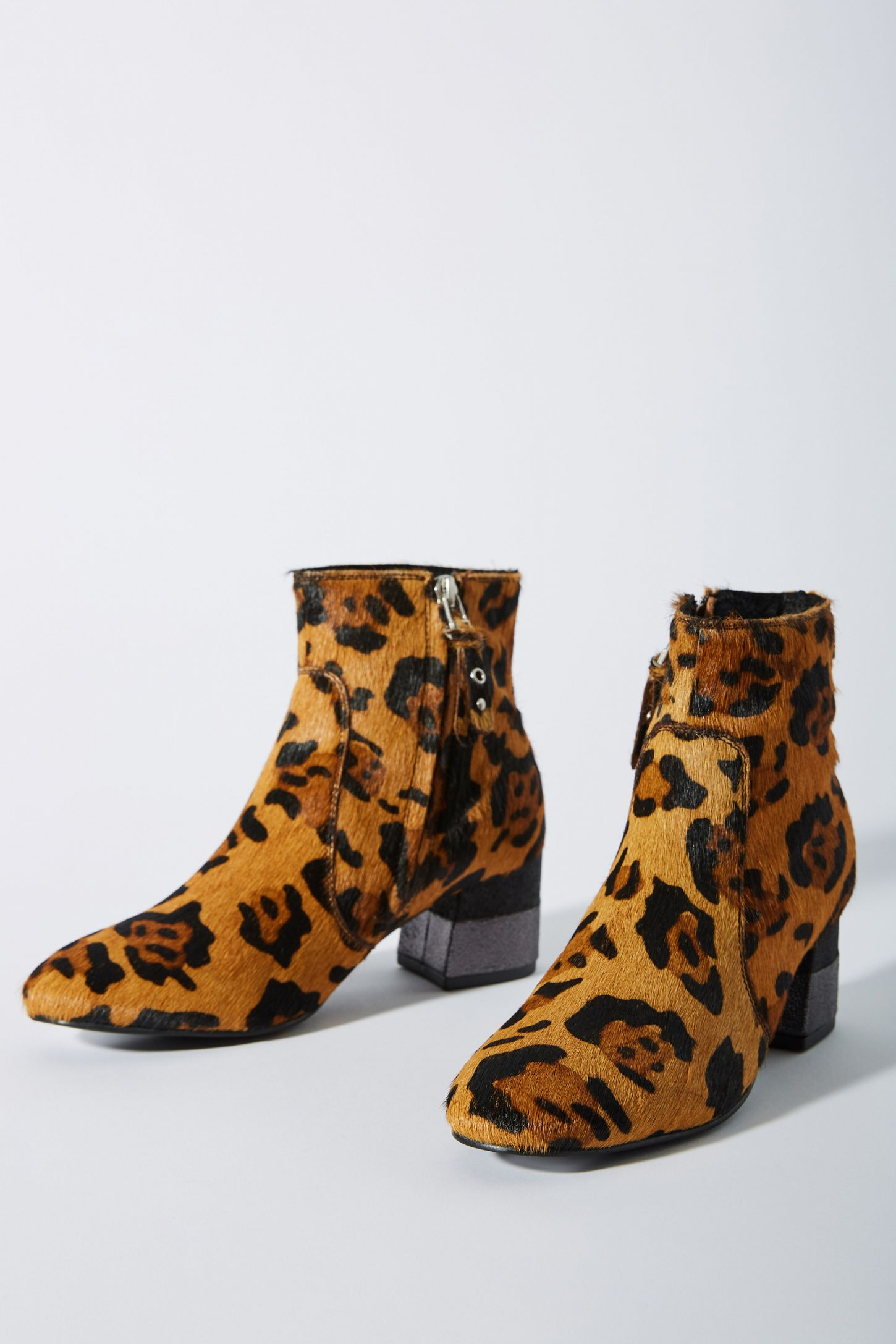 734256e68ce Gioseppo Leopard Booties | Anthropologie