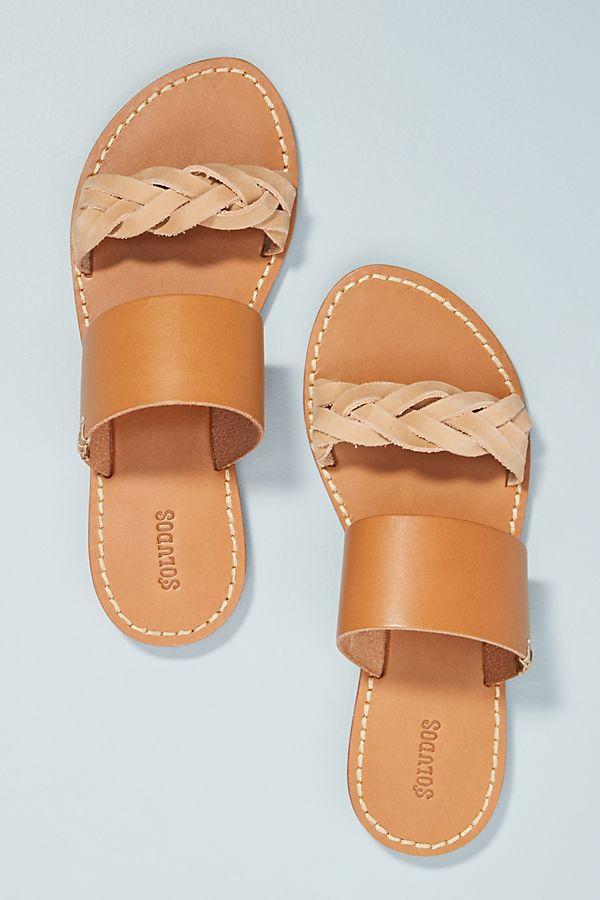 9fbbb48316b3 Soludos Braided Slide Sandals