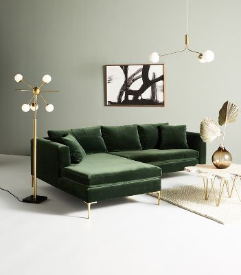 Petite Edlyn Sectional Anthropologie