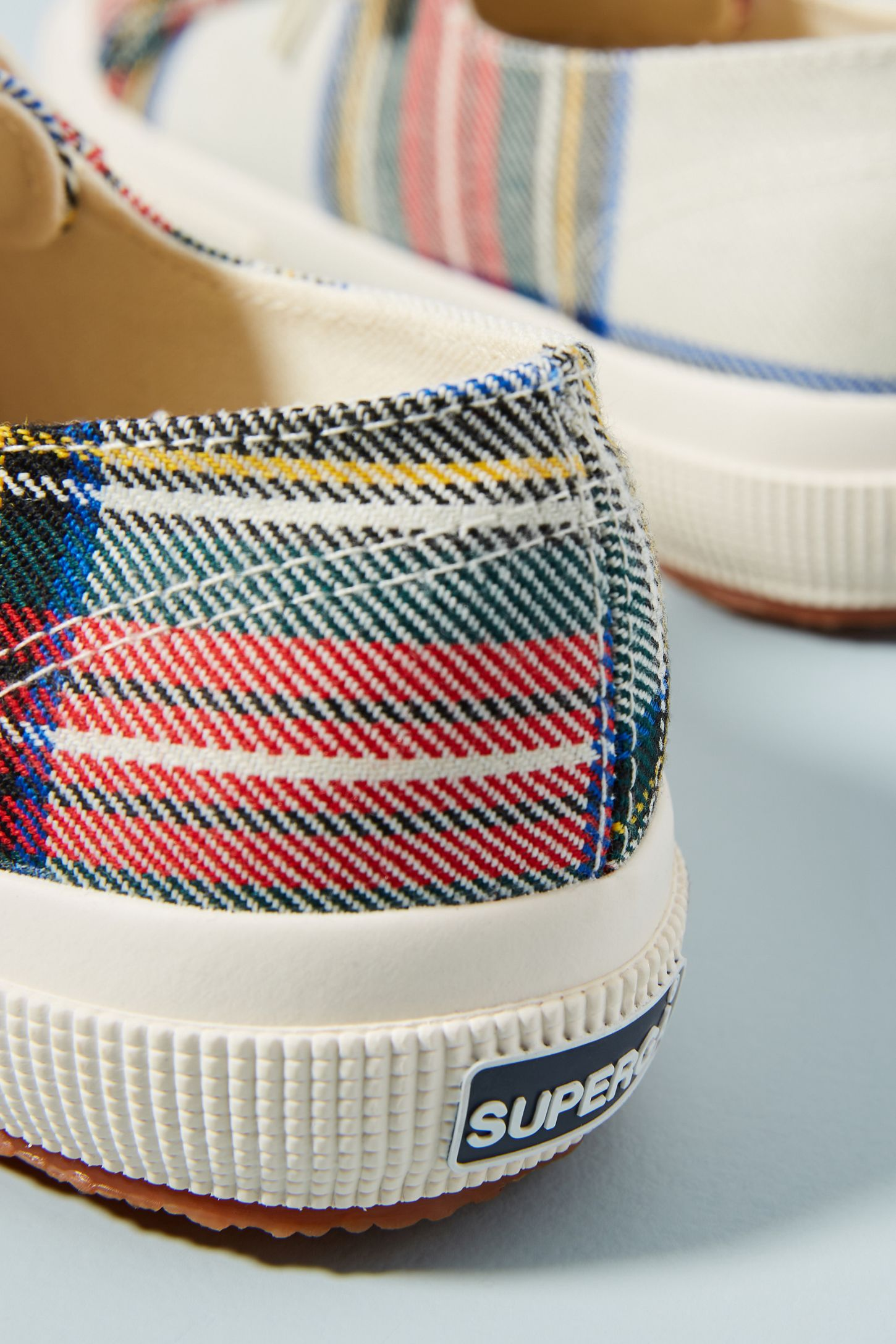 7efec91b053f Slide View  4  Superga Tartan Sneakers