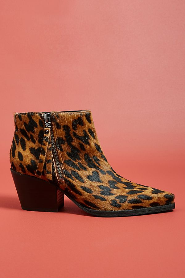 11ef5c75b Sam Edelman Walden Leopard Booties
