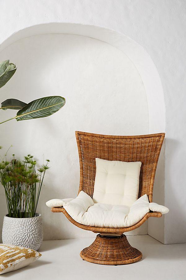 Slide View: 1: Hallie Swivel Chair