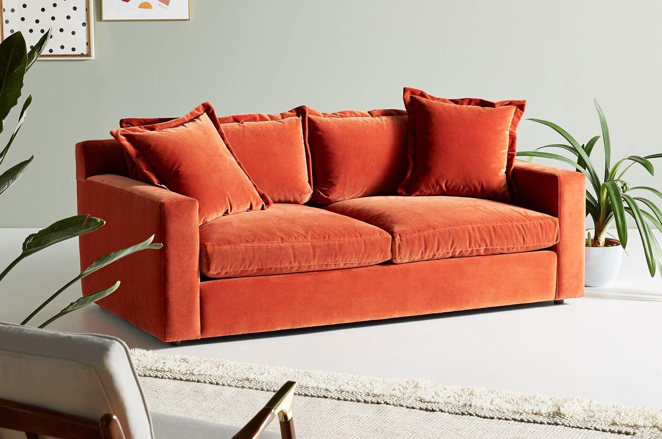 Katina Two Cushion Sofa Anthropologie