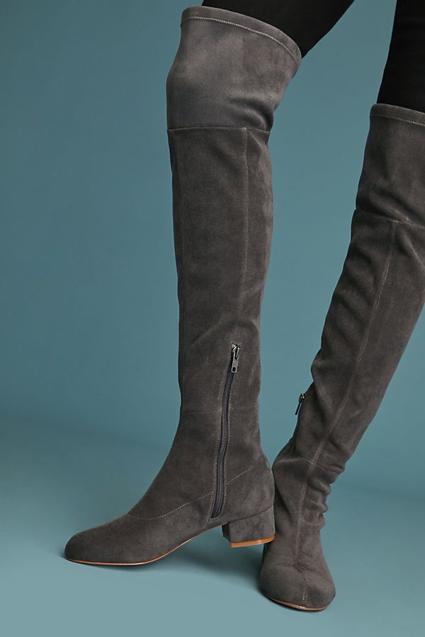 9c5927cf366 Anthropologie Suede Over-the-Knee Boots   Anthropologie