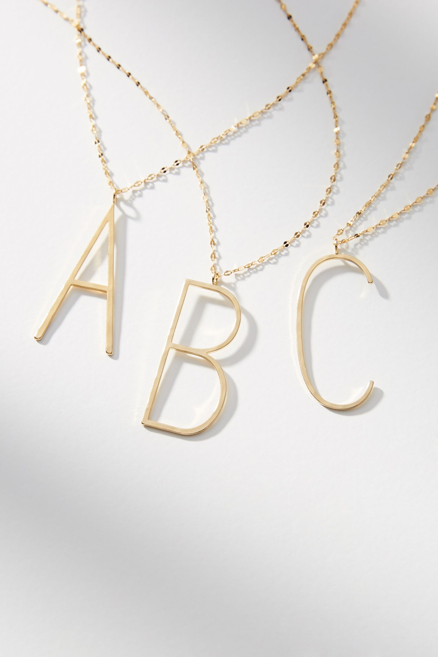 e2274a0cd0 Monogram Pendant Necklace