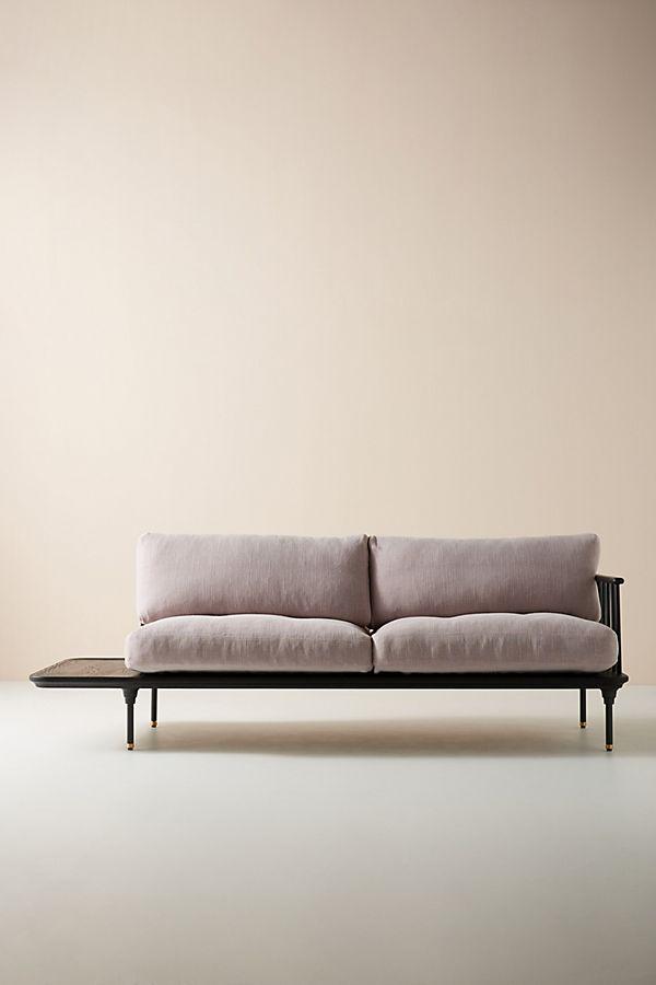 Terrific Kalmar Sofa With Side Table Bralicious Painted Fabric Chair Ideas Braliciousco