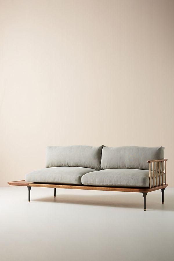 Stupendous Kalmar Sofa With Side Table Bralicious Painted Fabric Chair Ideas Braliciousco