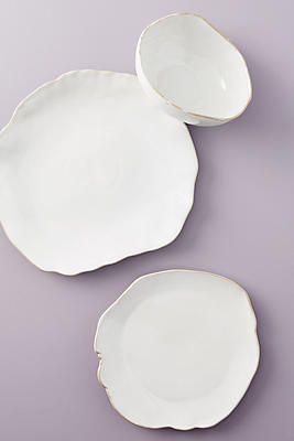 Slide View: 1: Isobel Dinner Plates, Set of 4