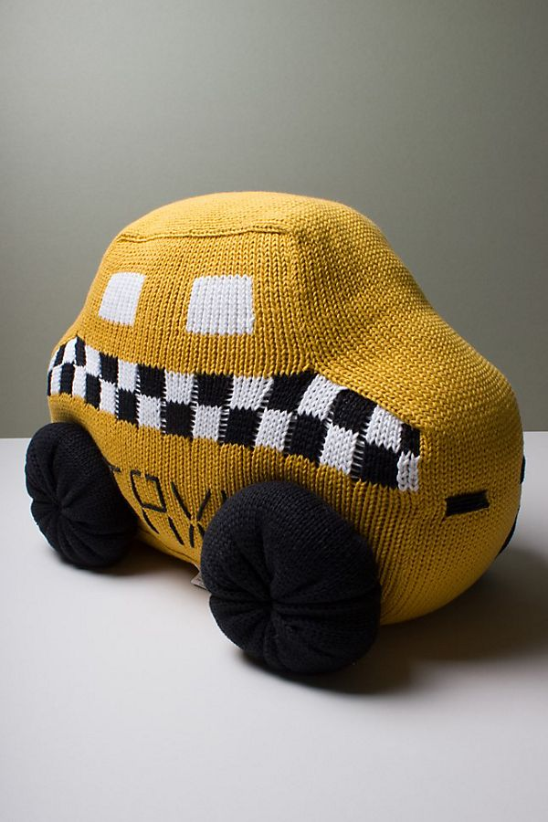 Slide View: 1: Estella Taxi Baby Pillow