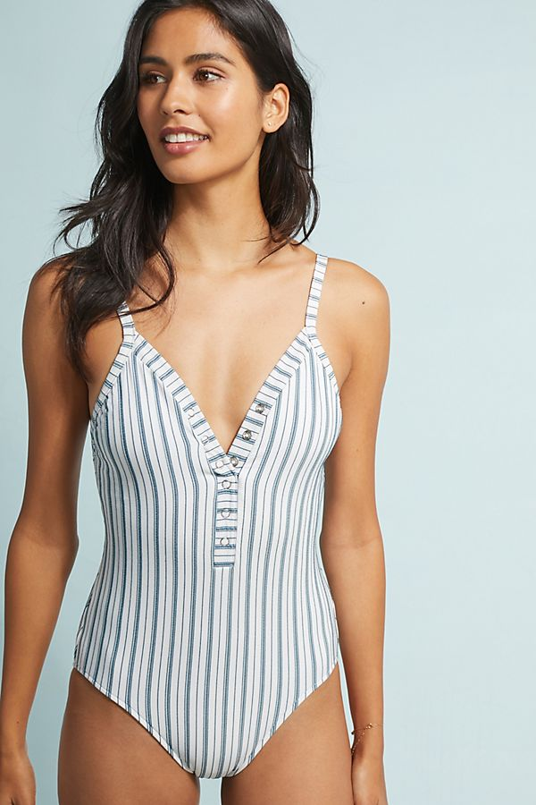 f40ff678066 Seafolly Striped One-Piece Swimsuit | Anthropologie
