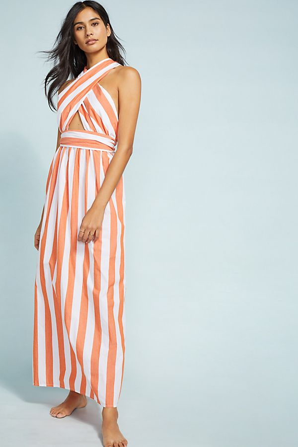 Slide View: 1: Mara Hoffman Rosario Striped Dress