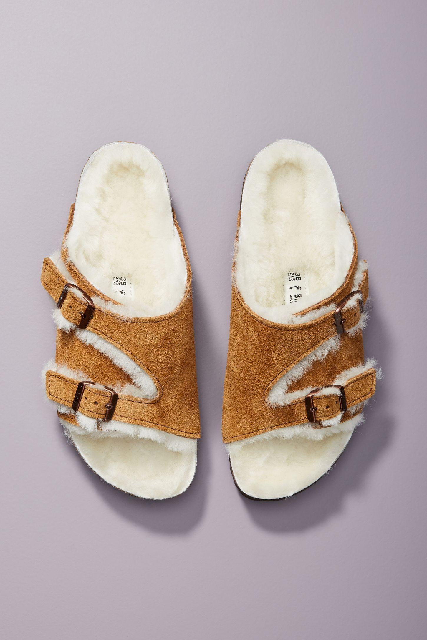 76b202614 Birkenstock Zurich Shearling Sandals