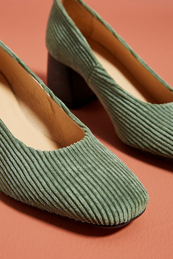 2403a0d023e Slide View  3  Anthropologie Corduroy Block Heels