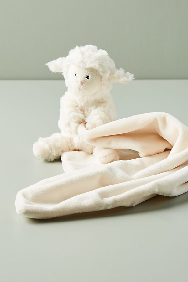 Slide View: 1: Little Lamb Soother Blanket