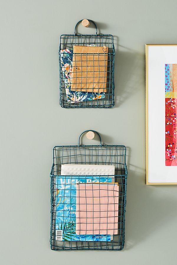Slide View: 1: Dolores Hanging Baskets, Set of 2