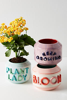 Slide View: 1: Garden Greeting Pot