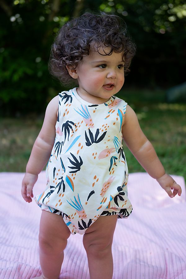 b321f915b85a Lola & Stella Bubble Romper | Anthropologie