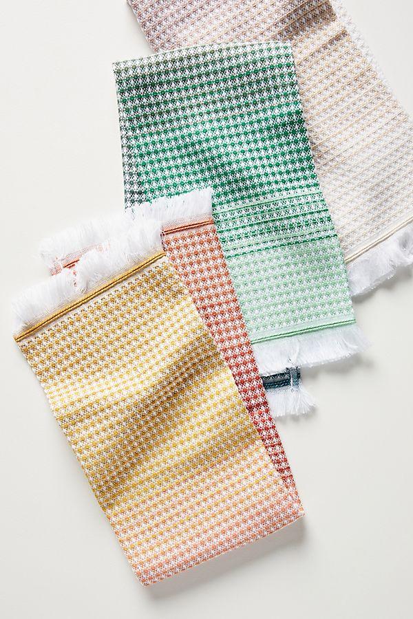 Slide View: 1: Lillian Dish Towels, Set of 3