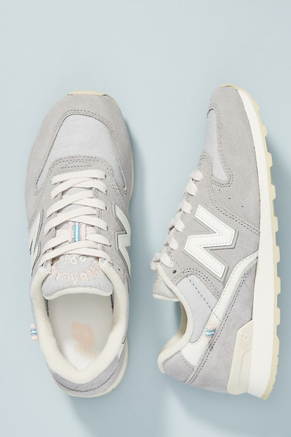 e7eac1f5596c New Balance Grey 696 Sneakers
