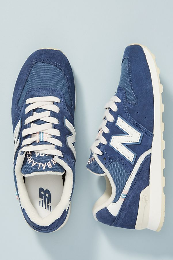 new product 6ca0a 55b30 New Balance Navy 696 Sneakers