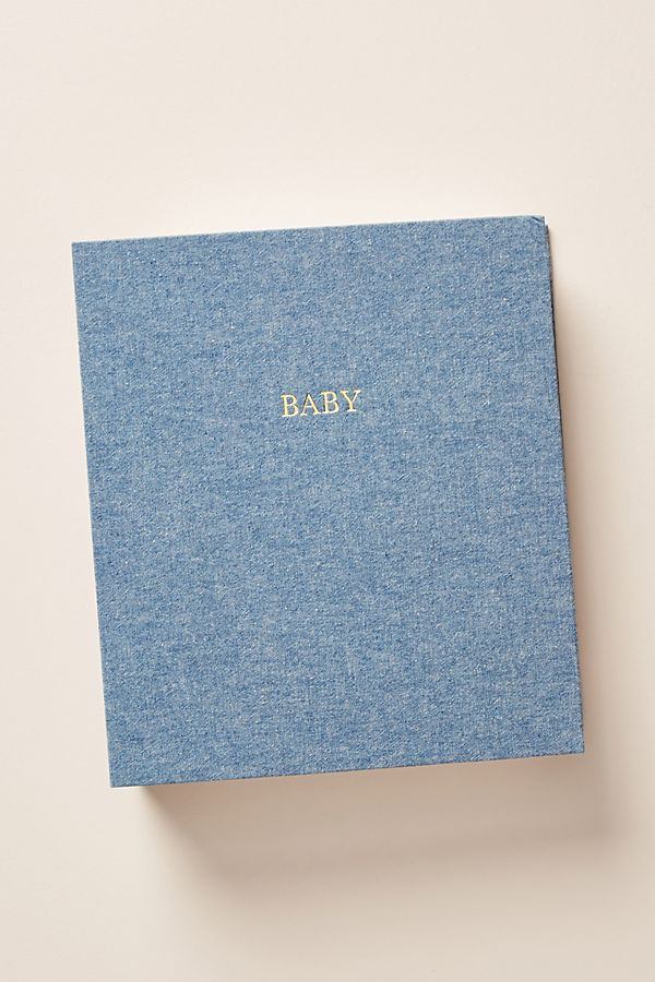 Slide View: 1: Sugar Paper Baby Book