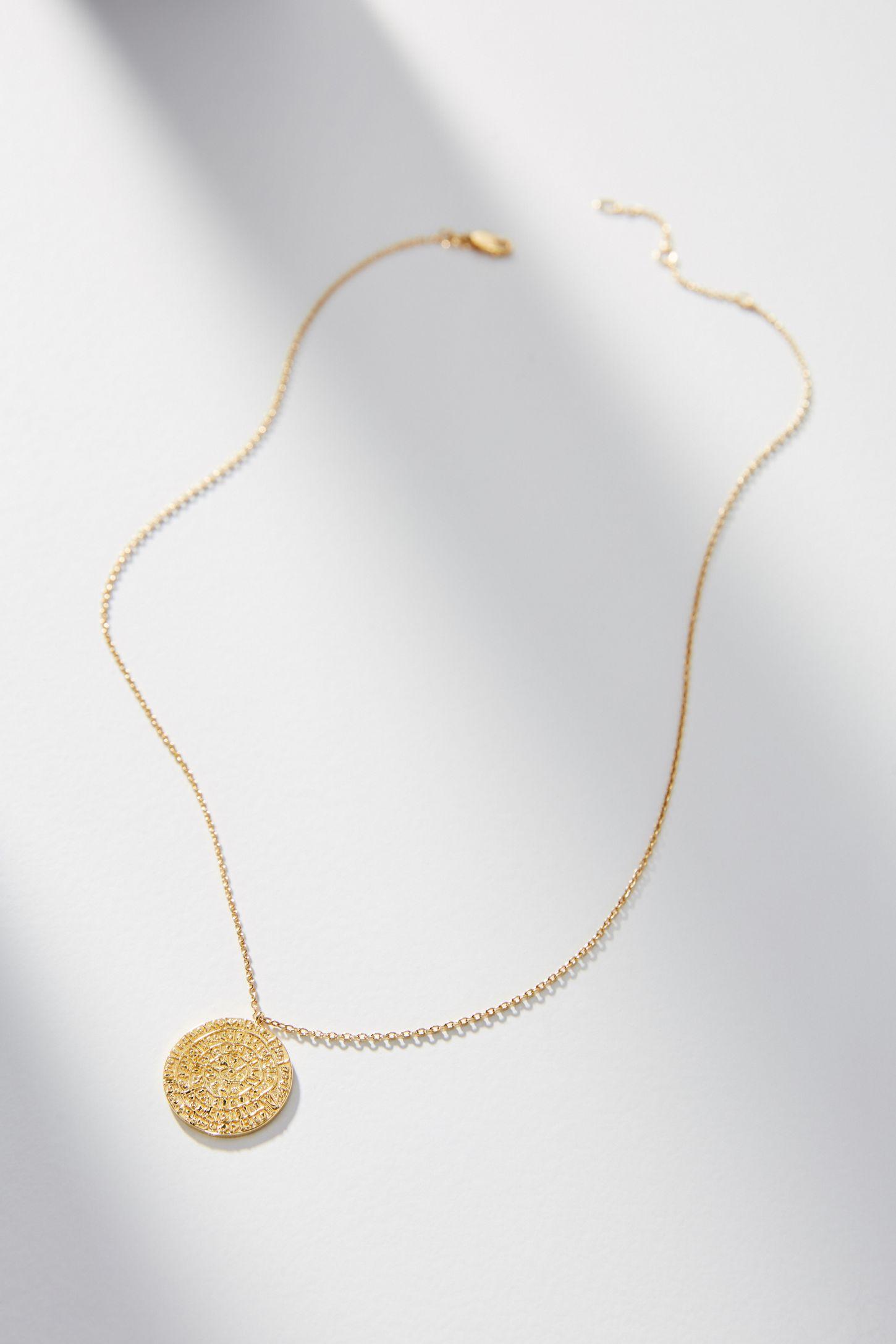 0f4c49cb291 Ancient Treasure Coin Necklace