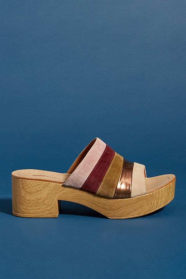 8afb7403434 Slide View  1  Matiko Striped Platform Sandals