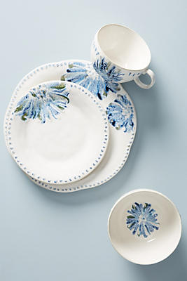 Slide View: 1: Ginny Dinner Plates, Set of 4