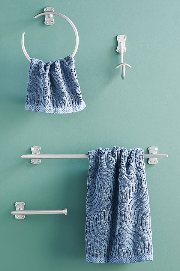 Slide View: 1: Streamline Towel Bar