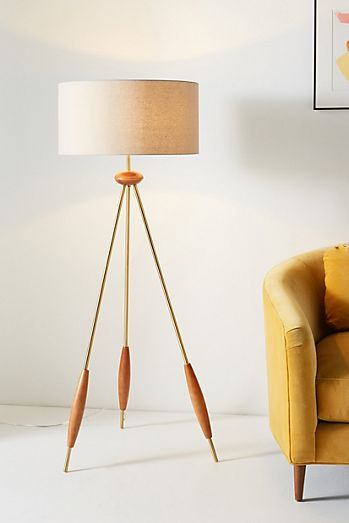 Unique Floor Lamps Arc Mid Century Floor Lamps Anthropologie