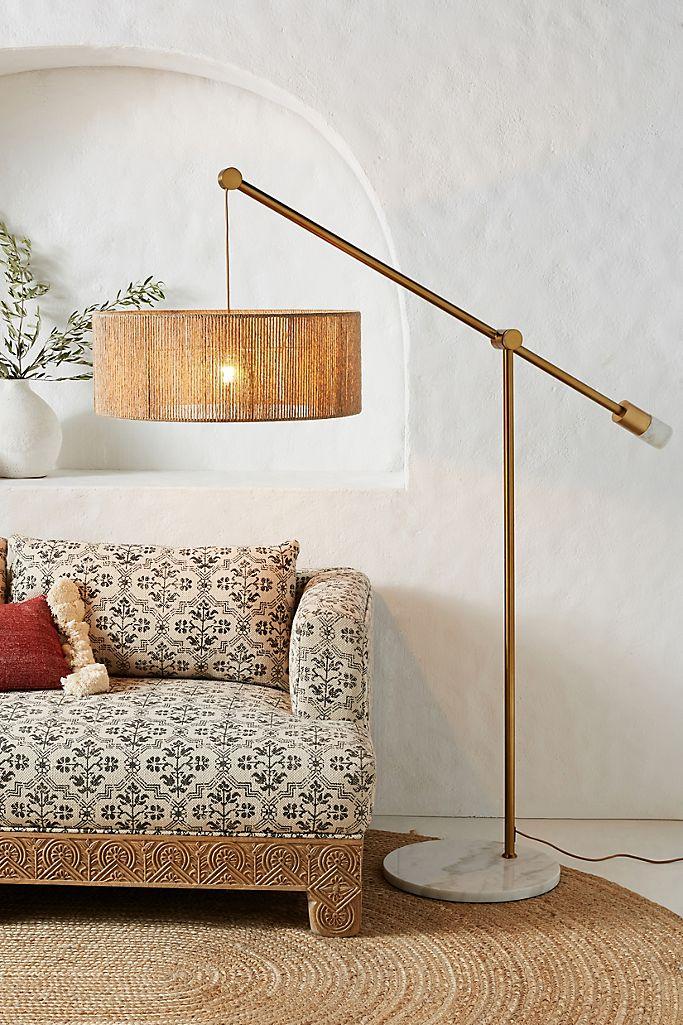 Topanga Jute Floor Lamp Anthropologie