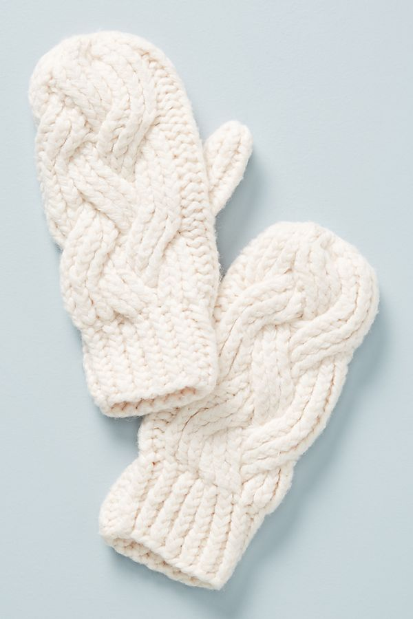 187600e6b Cable-Knit Mittens
