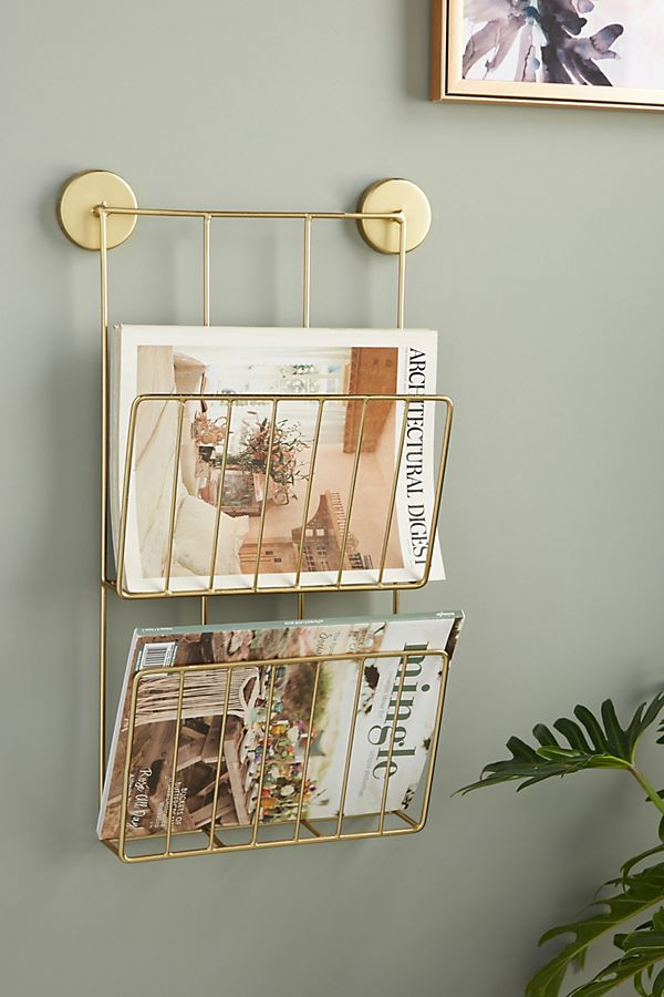 Slide View: 1: Kelly Magazine Rack