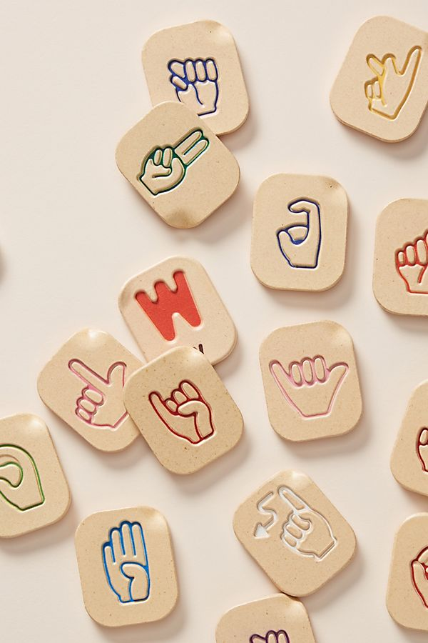 Sign Language Alphabet Set