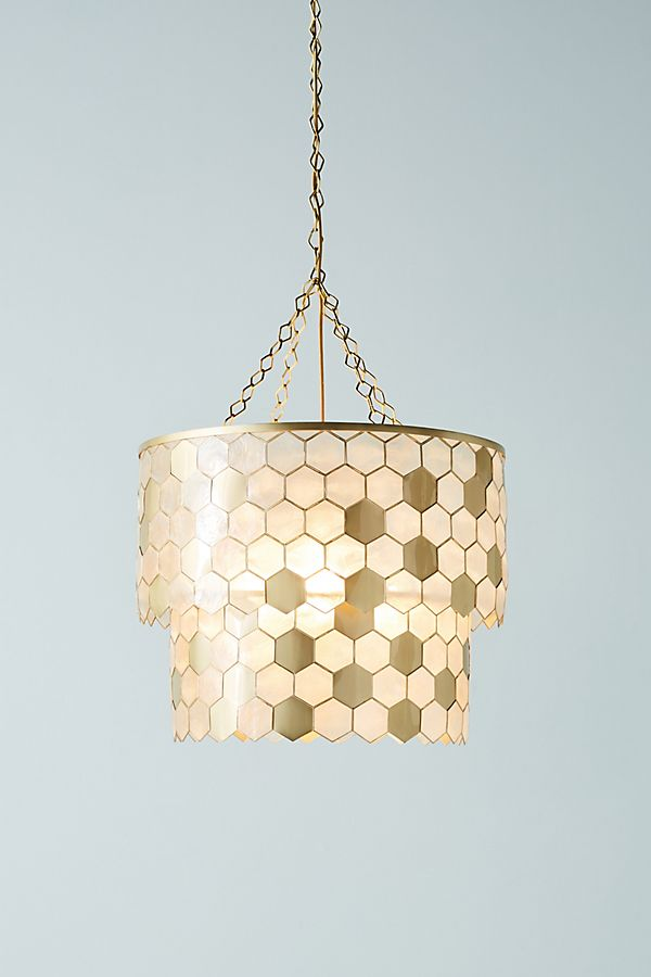the latest 4f112 0d86b Honeycomb Chandelier