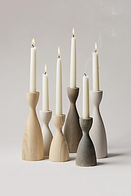 Slide View: 1: Farmhouse Pottery Pantry Candlestick