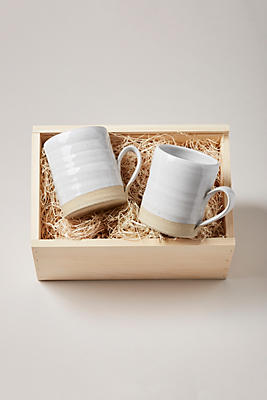 Slide View: 1: Farmhouse Pottery Silo Mug Gift Set